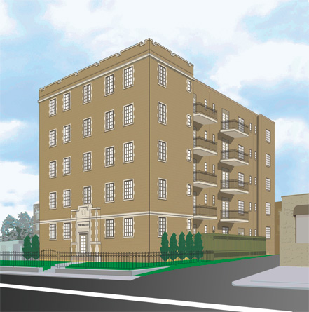 The Shelton Rendering Image